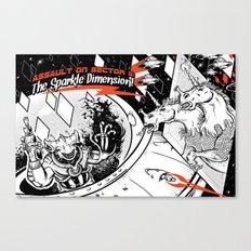 Assault on Sector 11: The Sparkle Dimension Canvas Print