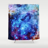 Shower Curtain featuring Galaxy by 2sweet4words Designs