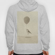 bird with a balloon Hoody