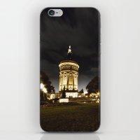 Mannheim Wasserturm iPhone & iPod Skin