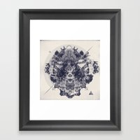 Neptunite Framed Art Print