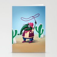 Cowboy Stationery Cards