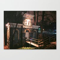 News Letter Office Canvas Print