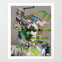 Hoodoo Heroine Art Print
