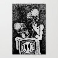 21st century anesthesia  Canvas Print