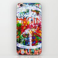 Lennon Wall - All You Need Is Love - Peace iPhone & iPod Skin