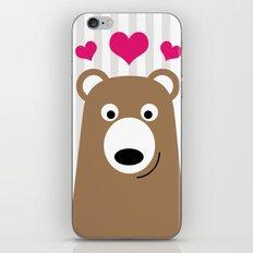 Bear Love iPhone & iPod Skin