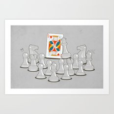 Wrong King Art Print