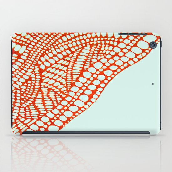 "Hand Drawn ""Orange Stones"" Doodle iPad Case"