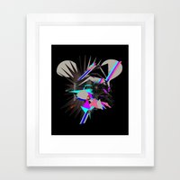 Mickey House Framed Art Print