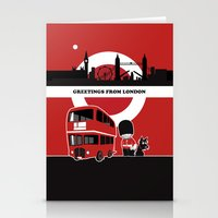 Greetings From London Stationery Cards