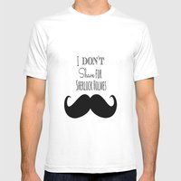 I Don't Shave For Sherlo… Mens Fitted Tee White SMALL