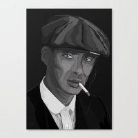 Thomas F'n Shelby - Peak… Canvas Print