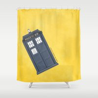 9th Doctor - DOCTOR WHO Shower Curtain