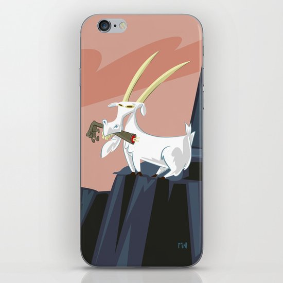 Trashmouth Goat, the Frost Giant Slayer iPhone & iPod Skin