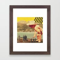 STAND.up Framed Art Print