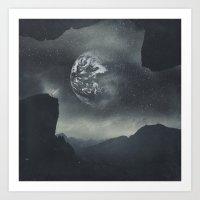 Art Prints featuring Dream Orbit II by Dirk Wuestenhagen Imagery