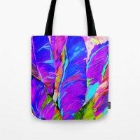 Exotic Leaves Tote Bag