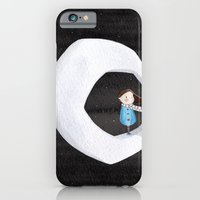 Girl on the Moon iPhone 6 Slim Case