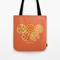 Olympizza Tote Bag