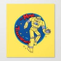 The Magic Transformer Canvas Print