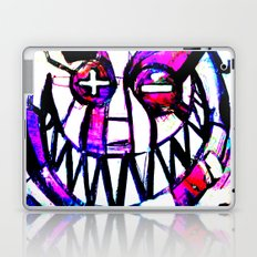smiley face, Applying all the T's Laptop & iPad Skin