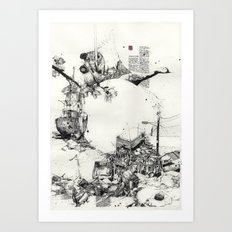 Japan 1 Art Print