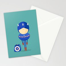 My dreaming hero! Stationery Cards