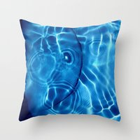 Water / H2O#14 (Water Abstract) Throw Pillow