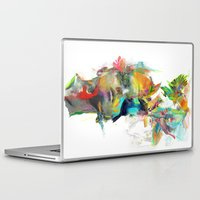 portrait Laptop & iPad Skins featuring Dream Theory by Archan Nair