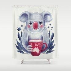 I♥Australia Shower Curtain