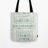 Henry Rollins Tote Bag
