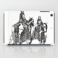 X-Ray Horsemen iPad Case