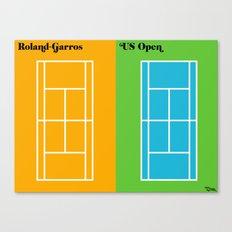 le tennis Canvas Print