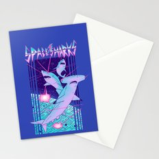 Space Sharks! Stationery Cards