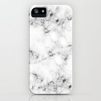 iPhone 5s & iPhone 5 Cases featuring Real Marble  by Grace