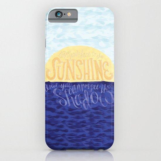 Face the Sunshine iPhone & iPod Case