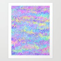 Four Colors Art Print