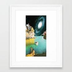 View from Rhodes Framed Art Print