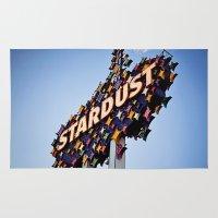 Vintage Stardust Sign, L… Rug