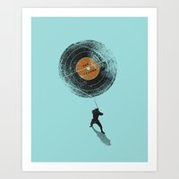 Record Breaker Art Print