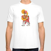 García, Tuba Mens Fitted Tee White SMALL