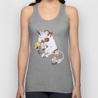 teens and wolves and unicorns Unisex Tank Top