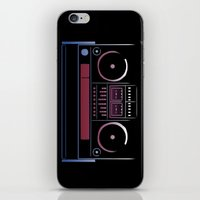 Boombox  iPhone & iPod Skin