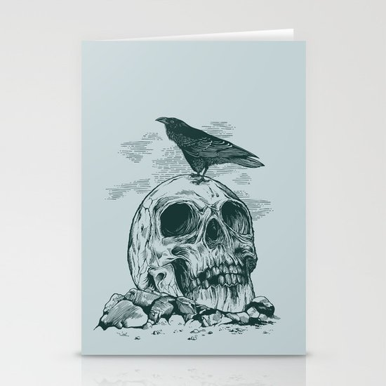 Raven's Cliff Stationery Card