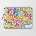 The inner workings of my mind! White! Laptop Sleeve