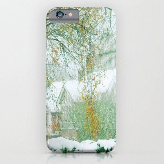 Snowy Morning iPhone & iPod Case