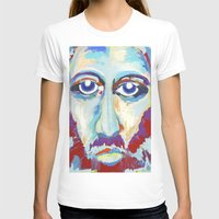 jesus T-shirts featuring Jesus  by melissa lyons