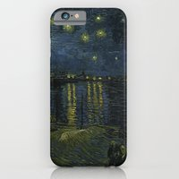 iPhone & iPod Case featuring Starry Night Over the Rhone by Van Gogh by TilenHrovatic