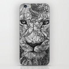 Geometric Lion iPhone & iPod Skin